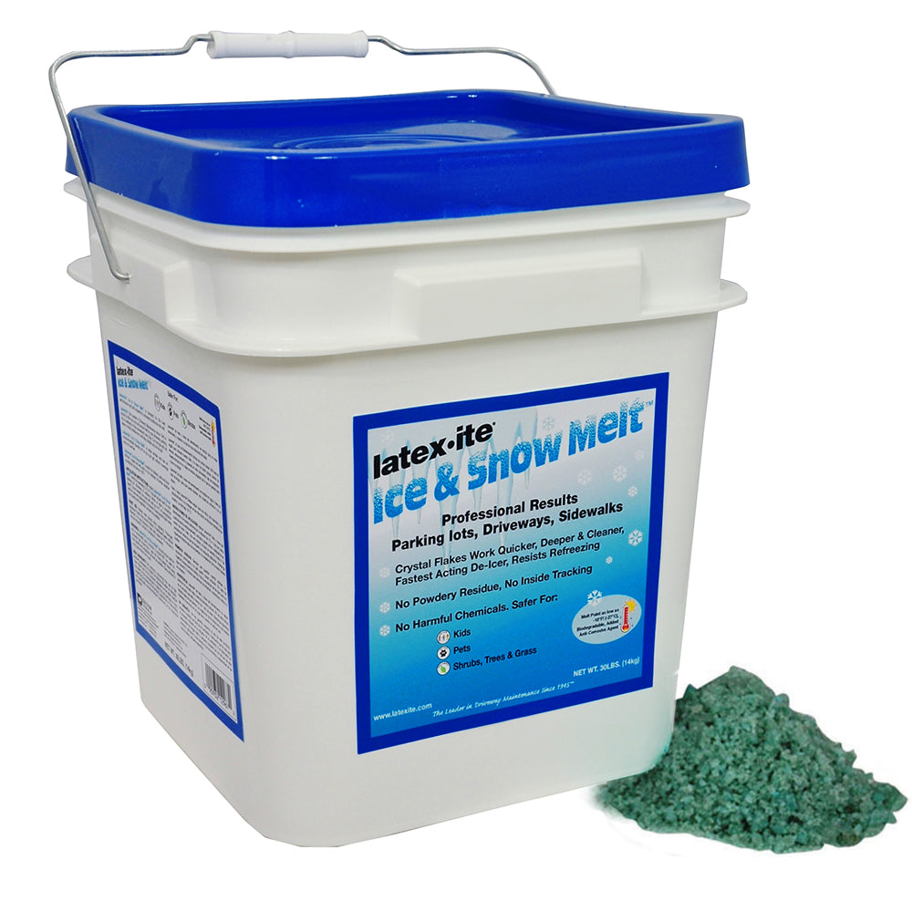 30lb. pail Latexite Ice & Snow Melt