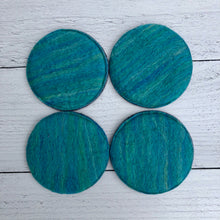 Load image into Gallery viewer, Individual Felted Wool Coasters