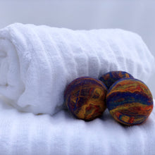 Load image into Gallery viewer, Single Merino Wool Felted Dryer Ball - Rainbow