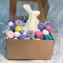 Load image into Gallery viewer, Pastel Rainbow Deluxe Wool Garland Kit