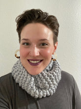 Load image into Gallery viewer, Iceberg Merino Wool Infinity Scarf