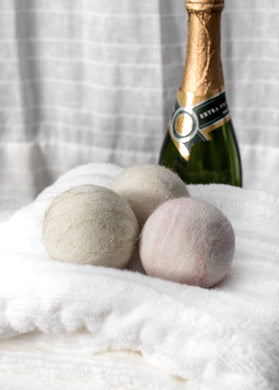 Champagne Colored Felted Soap