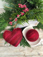 Load image into Gallery viewer, Felted Heart Soap