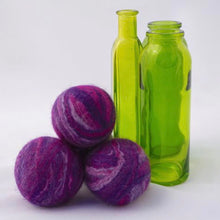 Load image into Gallery viewer, Single Merino Wool Felted Soap Ball - Purple