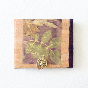 Botanical Dyed Photo Memory Album and Journal