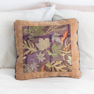 Botanical Print Pillow Cover, 18 x 18""