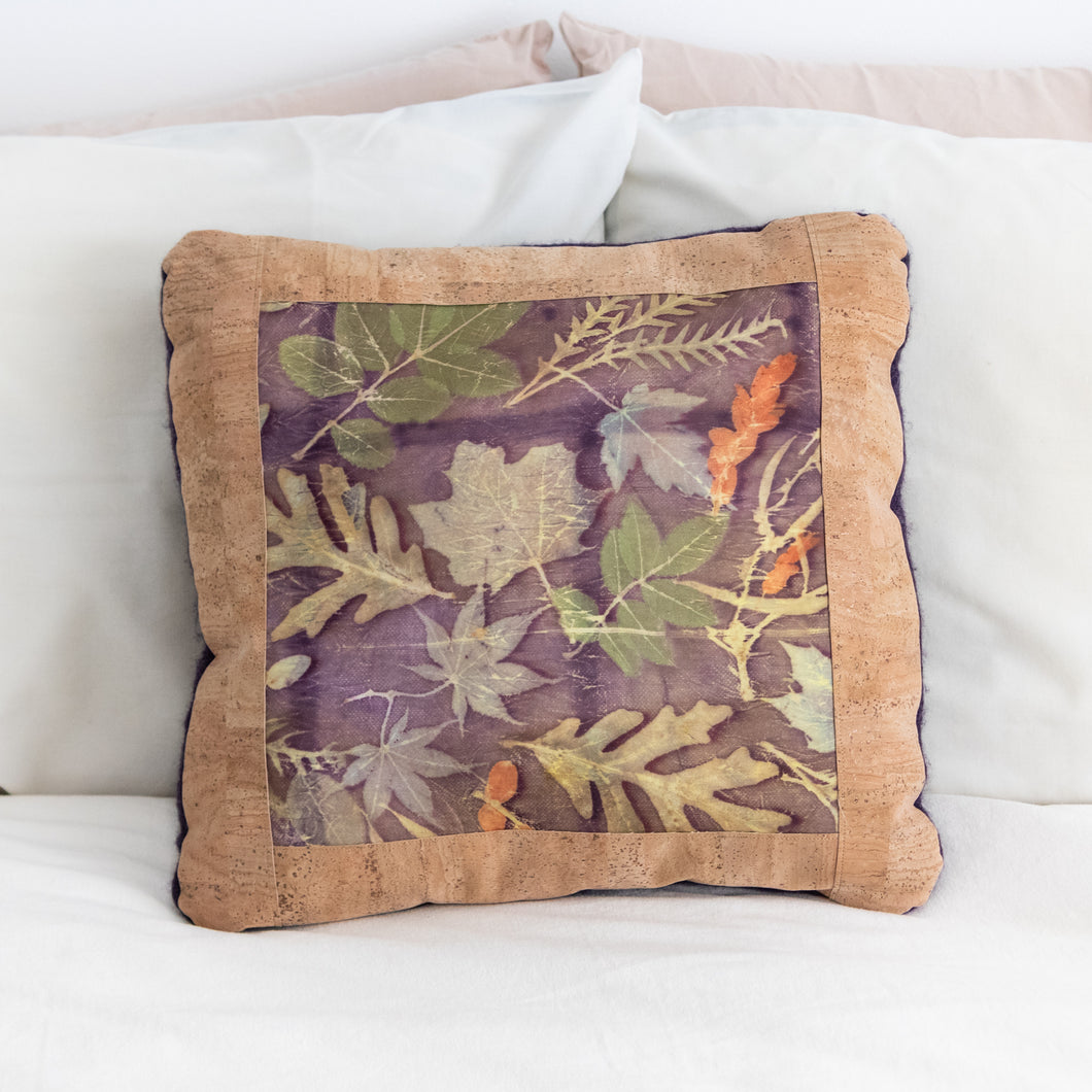 Botanical Print Pillow Cover, 18 x 18