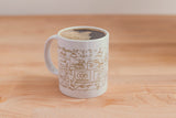 SketchyMedical White/Gold Mug (11oz)