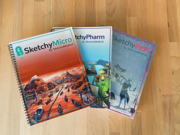 SketchyMedical Workbook Bundle