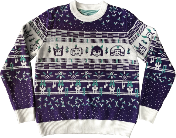 Sketchy Holiday Sweater 2020 - Gram Positive