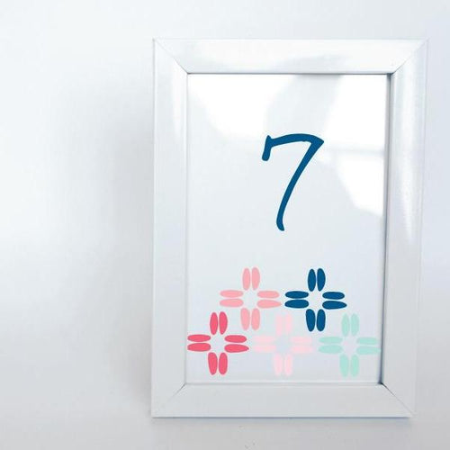 BOHO Printable 4x6 Table Numbers, 1 to 15 Tables, Digital Download, 4 Points