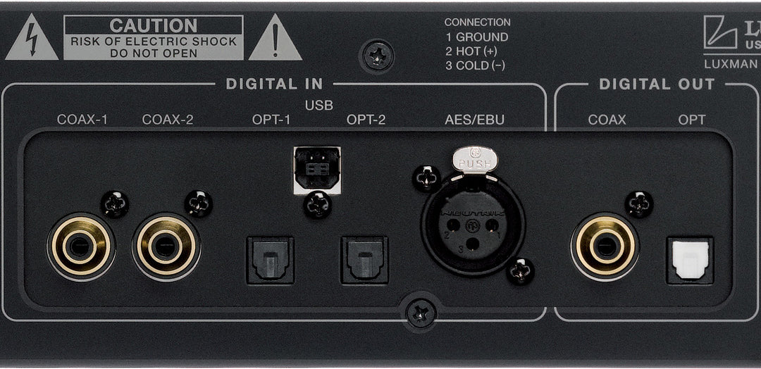 Uncompromising analog circuitry and power supply
