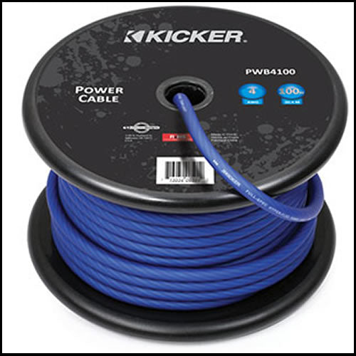 KICKER 100ft 4AWG Power Cable