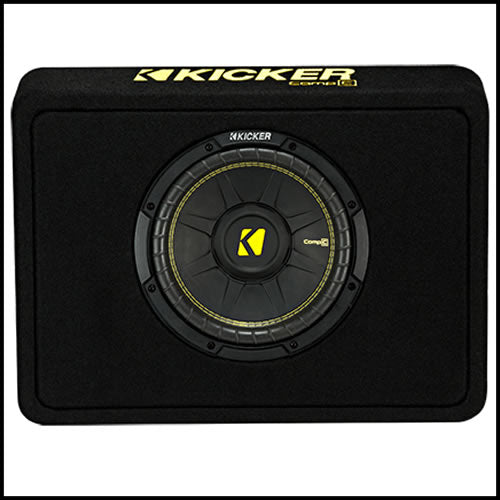 "KICKER 10"" CompC 2 Ohm Enclosure"