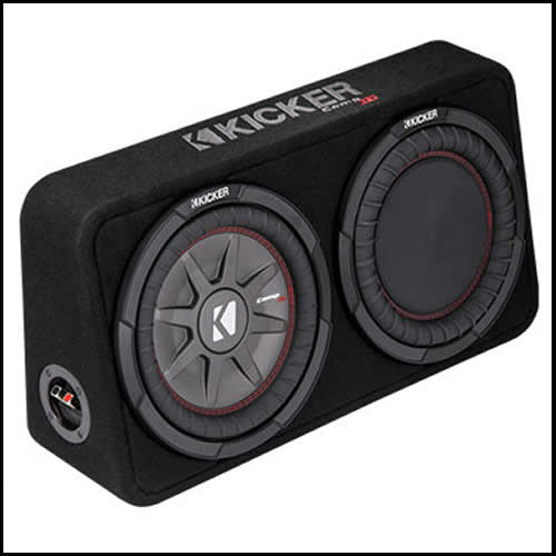 "KICKER 10"" CompRT 2 Ohm Enclosure"