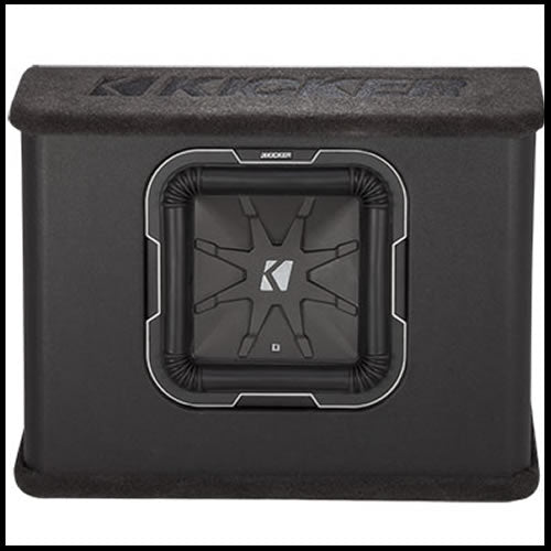 "KICKER 10"" L7 2Ω Loaded Enclosure"
