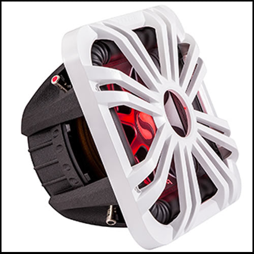 "KICKER 10"" Square White LED Grille"