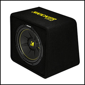 "KICKER 12"" CompC 4 Ohm Enclosure"