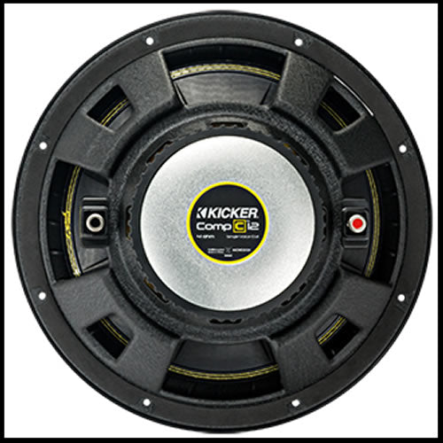 "KICKER 12"" CompC 4 Ohm SVC"