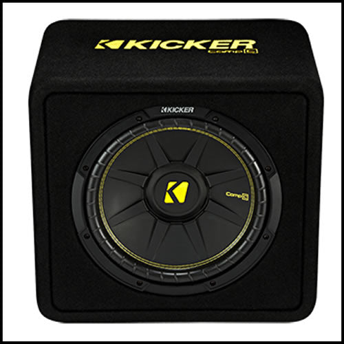 "KICKER 12"" CompC Enclosure"