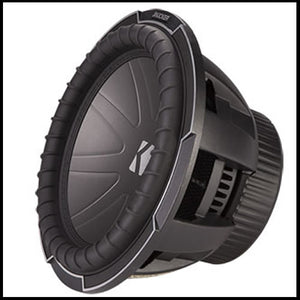 "KICKER 12"" CompQ 4 Ohm"