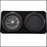 "KICKER 12"" CompRT 2 Ohm Enclosure"