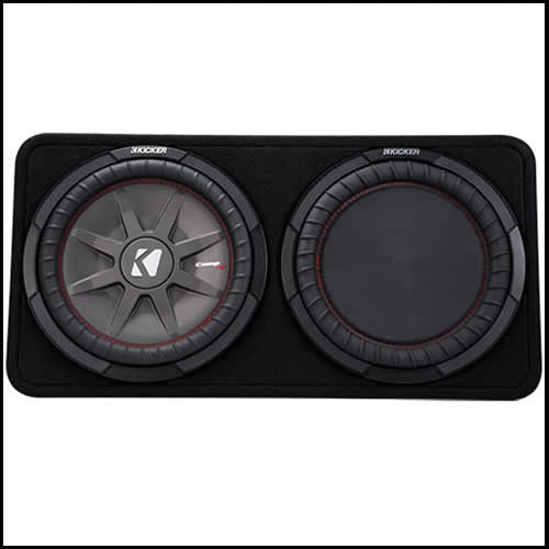 "KICKER 12"" CompRT 4 Ohm Enclosure"