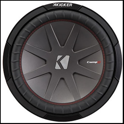"Kicker 12"" CompR 2 Ohm Audio Design"
