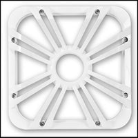 "KICKER 12"" Square White LED Grille"