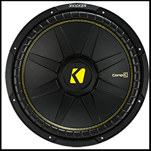 "KICKER 15"" CompC 4 Ohm SVC"