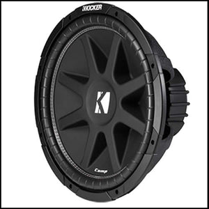 "KICKER 15"" Comp 4 Ohm SVC"