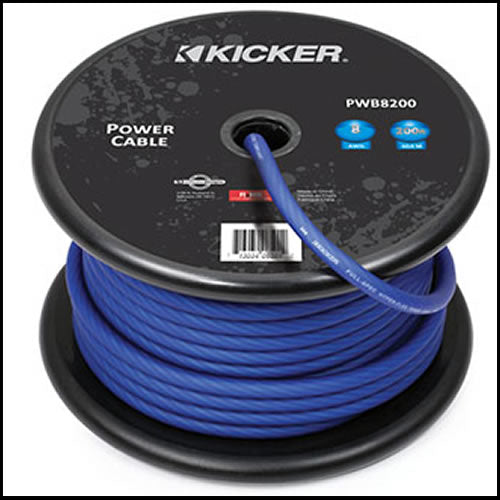 KICKER 200ft 8AWG Power Cable