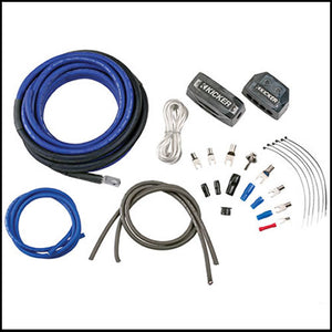 KICKER 4AWG 2-Channel Power Kit