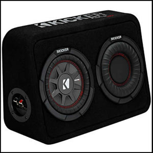 "KICKER 6.75"" CompRT 2 Ohm Enclosure Audio Design"