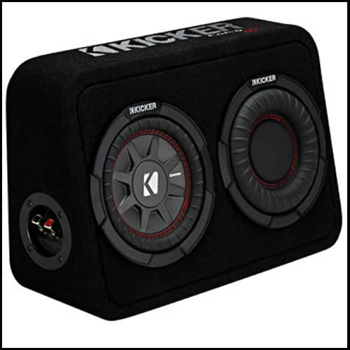 "KICKER 6.75"" CompRT 4 Ohm Enclosure Audio Design"