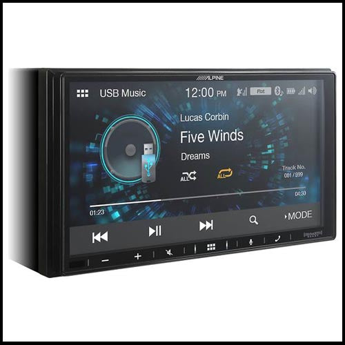 Alpine iLX-W650 Digital multimedia receiver (does not play CDs)