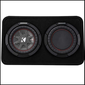 "KICKER 8"" CompRT 2 Ohm Enclosure Audio Design"