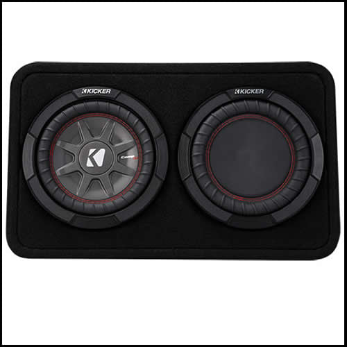 "KICKER 8"" CompRT 4 Ohm Enclosure Audio Design"