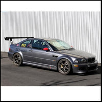 APR BMW E46 M3 GT-250 Carbon Fiber Adjustable Wing Kit