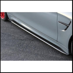 APR BMW F82 M4 Carbon Fiber Side Rocker Extensions