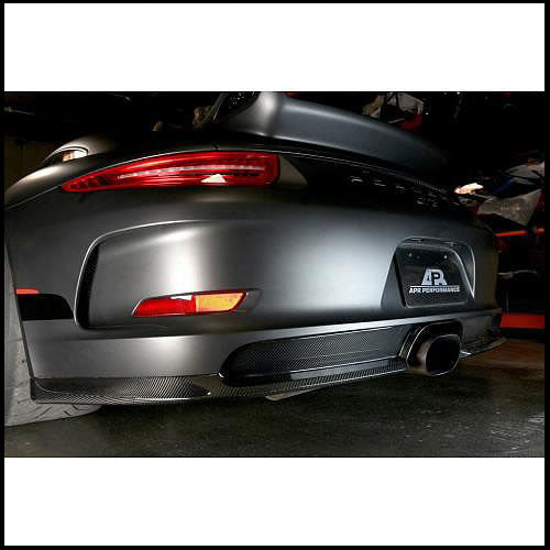APR Porsche 991 GT3 Carbon Fiber Rear Diffuser
