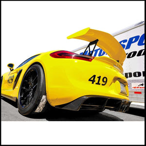 APR Porsche Cayman GT4 Carbon Fiber Rear Diffuser