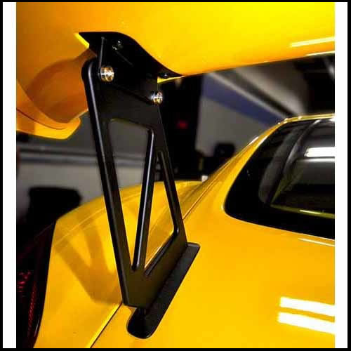 APR Porsche Cayman GT4 Wing Extension Kit