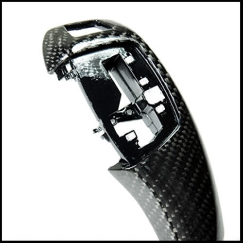 Autotecknic BMW Carbon Fiber Gear Selector Cover: Automatic Transmission
