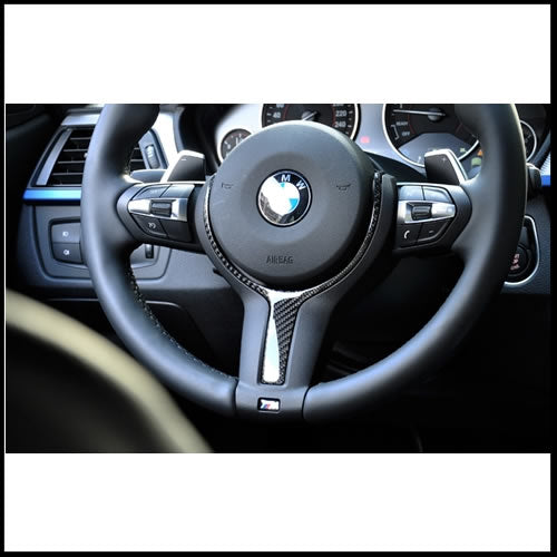 Autotecknic BMW Carbon Fiber M-Sport Steering Wheel Trim