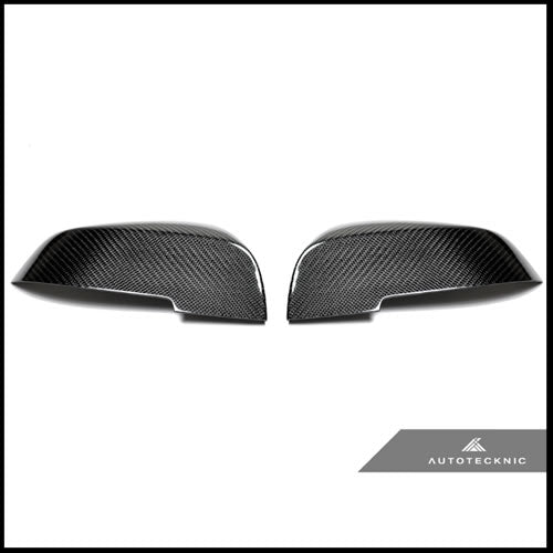 Autotecknic BMW F87 M2 Carbon Fiber Mirror Covers