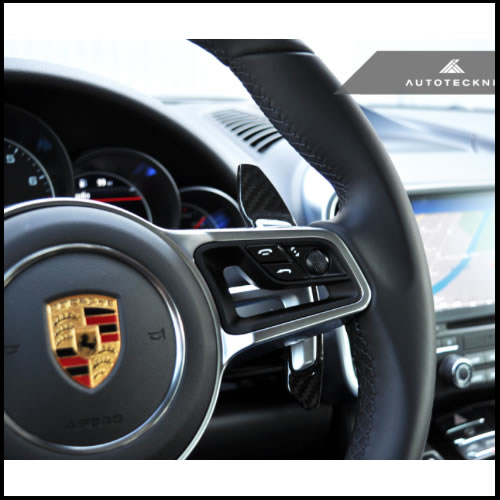 Autotecknic Porsche 718 & 991.2 Carbon Fiber Shift Paddles