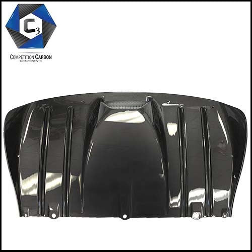 C3 Carbon Ferrari 430 Coupe/Spider Carbon Fiber Rear Diffuser