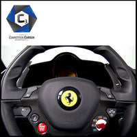 C3 Carbon Ferrari 488 GTB/Spider Carbon Fiber Shift Paddles
