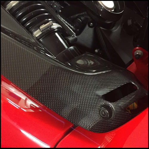 C3 Carbon Ferrari 488 Spider Carbon Fiber Complete Engine Kit